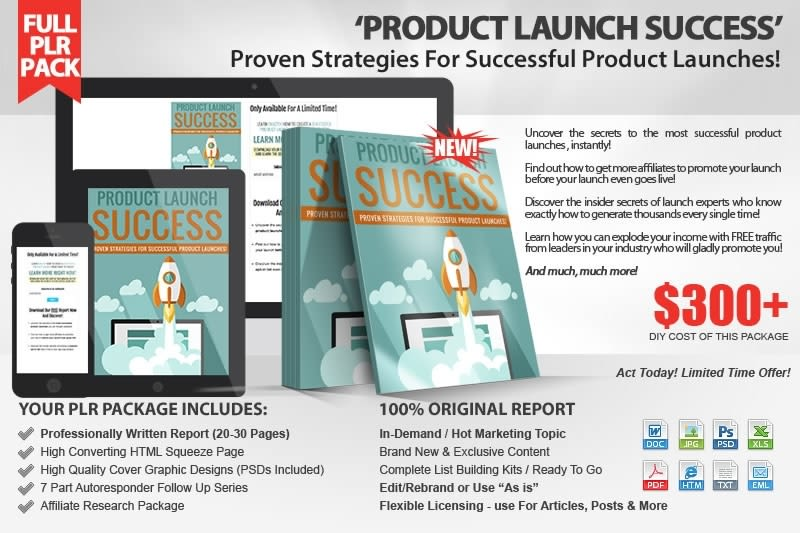 new product success launch and marketing
